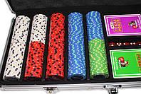 """Набор для игры в покер """"Havana 500"""" с композитными фишками, фото 3"""