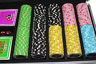 """Набор для игры в покер """"Havana 500"""" с композитными фишками, фото 4"""