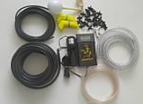 Система автоматичного крапельного поливу для теплиці АкваДуся Start 50 з дисплеєм, на 50 рослин, фото 3
