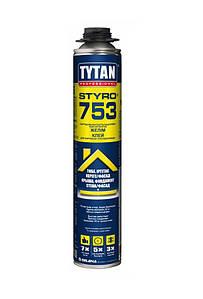 Пена-клей профессиональная 750 мл Tytan Styro 753