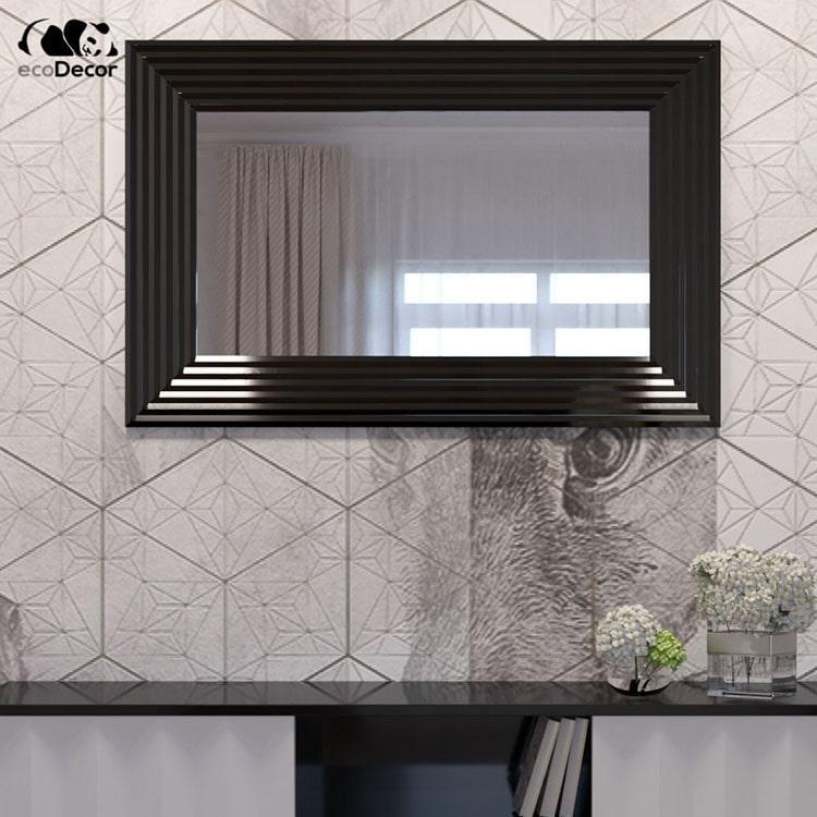 Зеркало в ванную черное Alanno P1