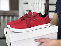Кеды Lacoste, красные