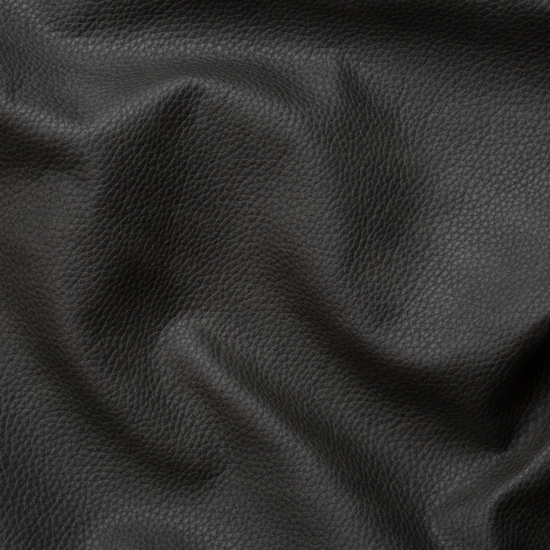 Мебельная ткань Wave 112 Black, искусственная кожа