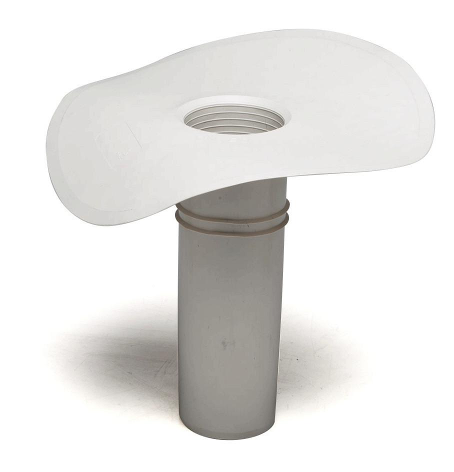 Дренажная воронка Impertek ф 80мм, H 240мм для ПВХ мембранн