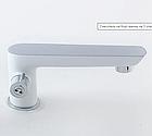 Смеситель для ванны Imprese Breclav White однорычажный врезной белый, фото 3