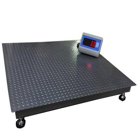 Весы платформенные Днепровес ВПД-1515 «PRO» (2 т), фото 2