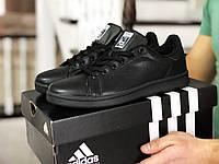 Мужские кроссовки Adidas Stan Smith, черные