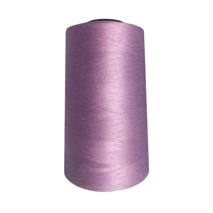 Нитки швейные 50/2 цв.S-244 сиреневый (боб.5000 ярдов) NITEX