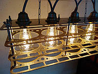 Светильник из металла в стиле Лофт, фото 1