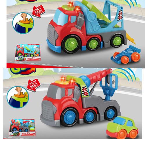Машина 10331-49  19см, звук, свет, машинка, 2вида, на бат-ке, в кор-ке, 27-18-11см