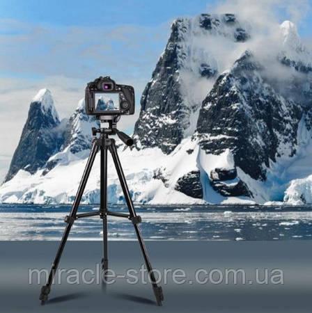 Штатив для фотоаппарата и телефона Tripod 3120, фото 2