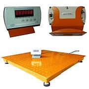 Весы платформенные ЗЕВС-ЭКОНОМ (1000 кг - 1000х1000)