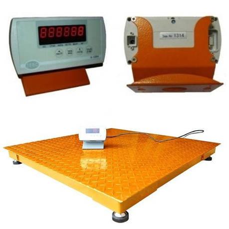 Весы платформенные ЗЕВС-ЭКОНОМ (1000 кг - 1000х1000), фото 2