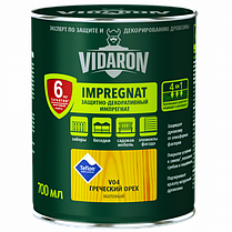 Імпрегнат Vidaron (V05) захисно-декоративний засіб 0,7 л твк натуральної Код УКТ ЗЕД 3208109090.