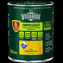 Імпрегнат Vidaron (V16) захисно-декоративний засіб 0,7 л сірий антрацит мат Код УКТ ЗЕД 3208109090