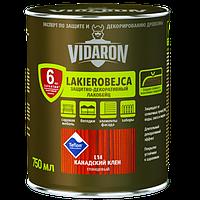 Vidaron Лакобейц (L14) защитно-декоративное средство 0,75л клен канадский Код УКТ ЗЕД 3208109090