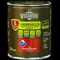 Vidaron Лакобейц (L16) защитно-декоративное средство 0,75л антрацит сірий.Код УКТ ЗЕД 3208109090