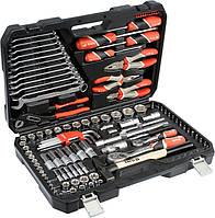 Набір інструментів ключів головок Yato YT-38901 122 предмета, фото 1