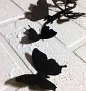 Набор 3д бабочек для декора Бонни, объемные бабочки из картона на скотче, метелики 3d, фото 4