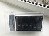 Панель перемикання на 6 кнопок з вольметром, USB і прикурювачем, фото 3