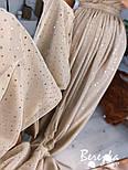 Длинное пышное платье с блестками и верхом на запах без рукава vN7002, фото 2
