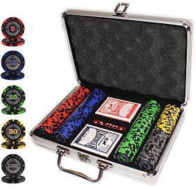 """Набор для покера """"Elite Poker Tournament 200"""" с фишками 14 грамм"""