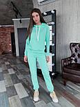Женский спортивный костюм из двухнитки с худи vN7071, фото 5