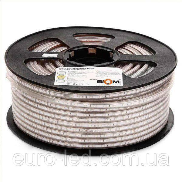 Светодиодная лента  2835-120 W 220В IP68 белый, герметичная, 1м