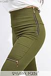 Женский комплект тройка в больших размерах с джинсами, белой базовой футболкой и накидкой vN7199, фото 6