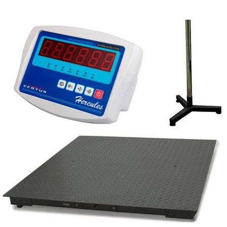 Весы платформенные Certus СНК-600М200 (СД), (600 кг), фото 2