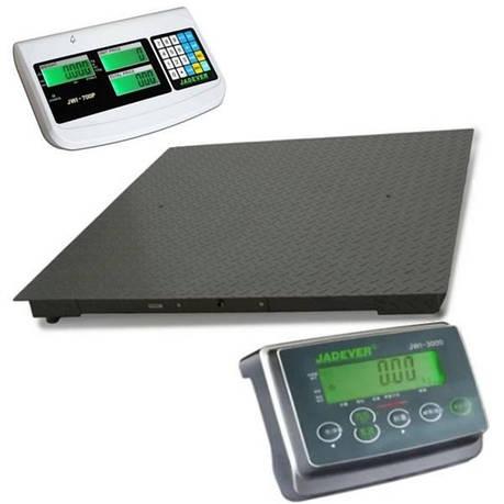 Весы платформенные производственные Jadever JBS (1000 кг - 1000х1000), фото 2