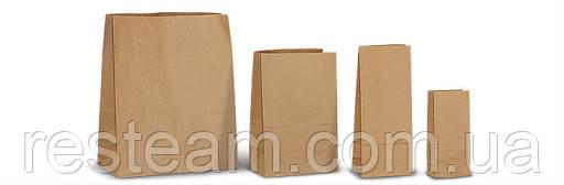 Пакет бумажный 280*190*115 широкое дно
