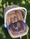 Детское автокресло для новорожденных (автолюлька) группа 0+ (0-13 кг) Carrello Mini CRL-11801, фото 2
