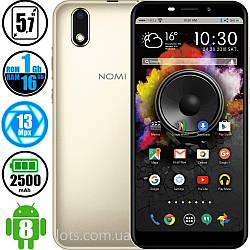 Смартфон Nomi i5710 (1/16GB) Gold