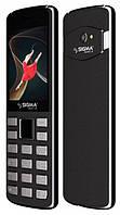 Кнопочный телефон тонкий с камерой Sigma X-style 24 ONYX Grey