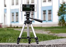 Штатив для фотоаппарата и телефона Tripod 3120, фото 3
