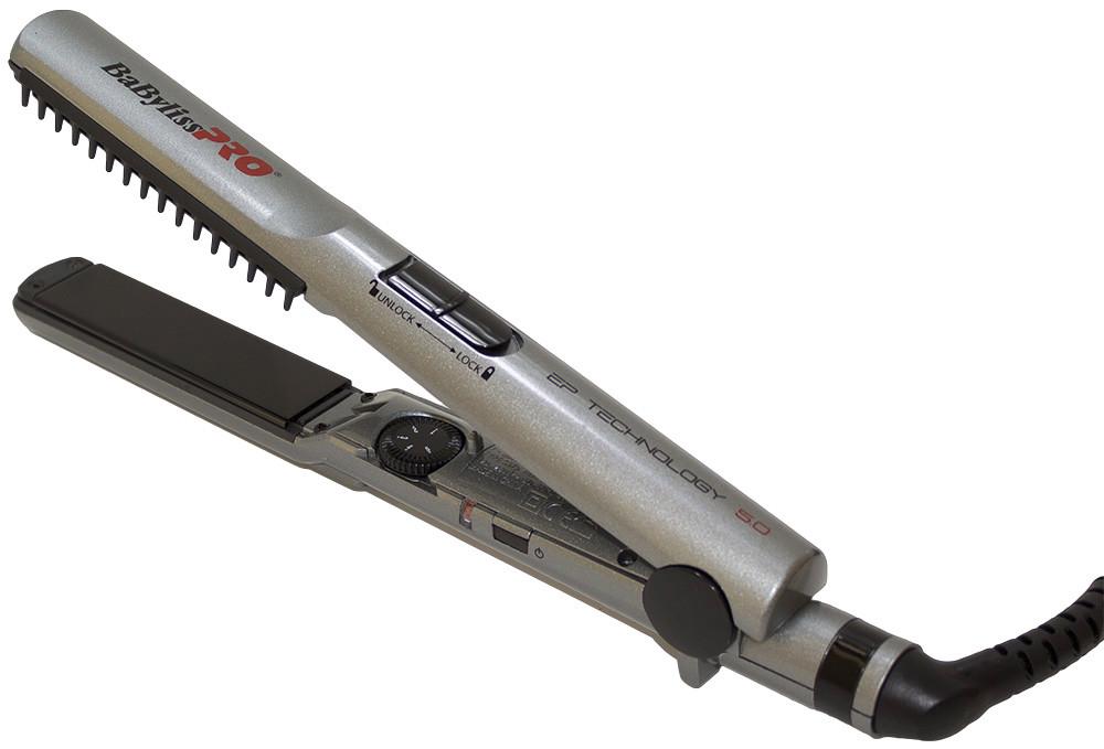 Щипцы для выпрямления волос BaByliss с расческой 25 мм