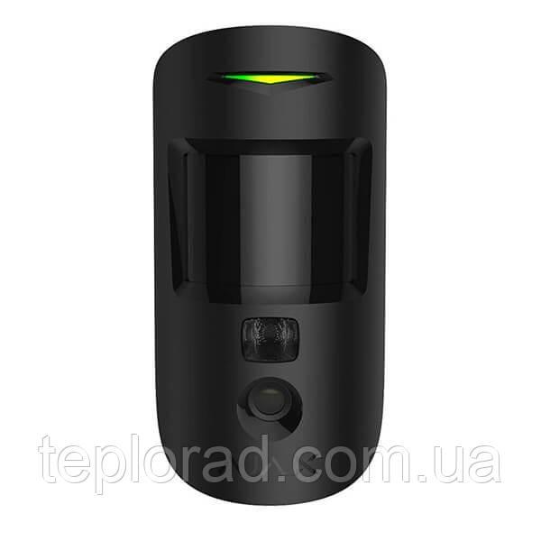 Беспроводной датчик движения с фотофиксацией Ajax MotionCam черный