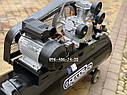Воздушный компрессор Беларусь 120л 3 цилиндровый 380 V 4.5 кВт 850 л/мин, фото 3