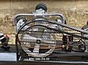 Воздушный компрессор Беларусь 120л 3 цилиндровый 380 V 4.5 кВт 850 л/мин, фото 6