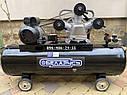 Воздушный компрессор Беларусь 120л 3 цилиндровый 380 V 4.5 кВт 850 л/мин, фото 7