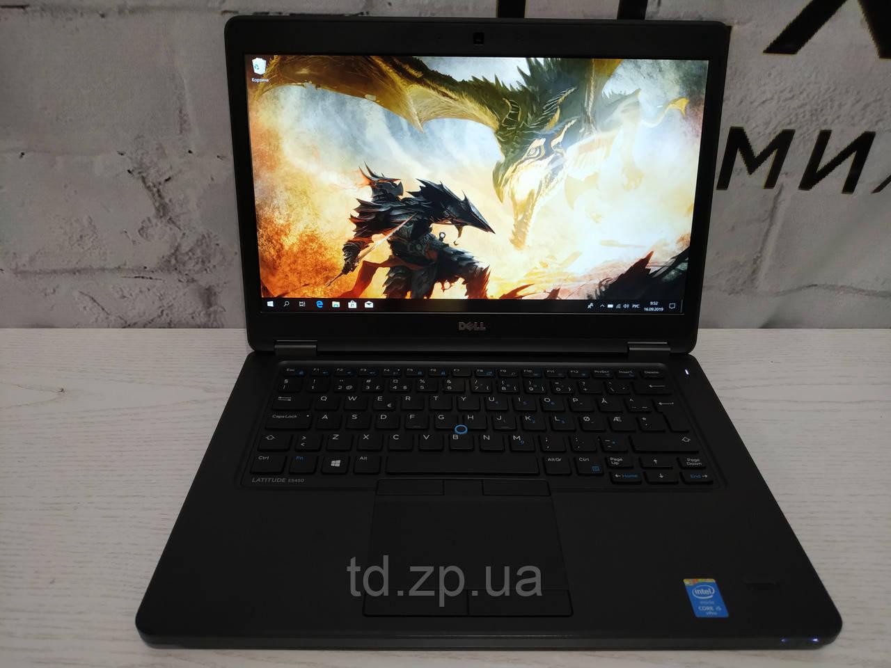 Ноутбук Dell Latitude E5450 14.1/ intel core i5-5300u 4x2.9Ghz/8GB DDR 3/ 128 Gb SSD/  Intel HD Graphics 5500