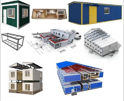 Бытовки, модульные офисы, посты охраны, жилые помещения