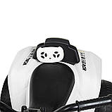 Детский квадроцикл на аккумуляторе с пультом РУ M 4229EBR-1 белый, фото 5