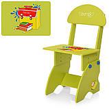 Детская парта со стульчиком Алфавит, M 0324-5 салатовый, фото 2