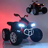 Детский электромобиль квадроцикл с 2 моторами и пультом управления BAMBI M 4200EBLR- 7 оранжевый, фото 5