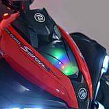 Детский электромобиль квадроцикл с 2 моторами и пультом управления BAMBI M 4200EBLR- 7 оранжевый, фото 6