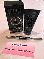 Набор для наращивания ногтей Poly Uv Gel Milano 30ml +Кисть-Шпатель