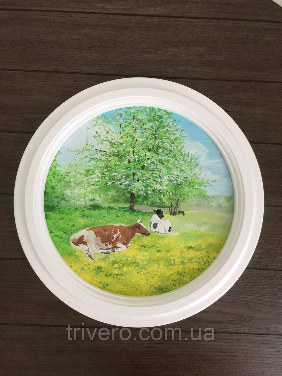 Кругла рама для картини або дзеркала