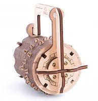 Кодовый замок, Механический 3D пазл, Ukrainian Gears